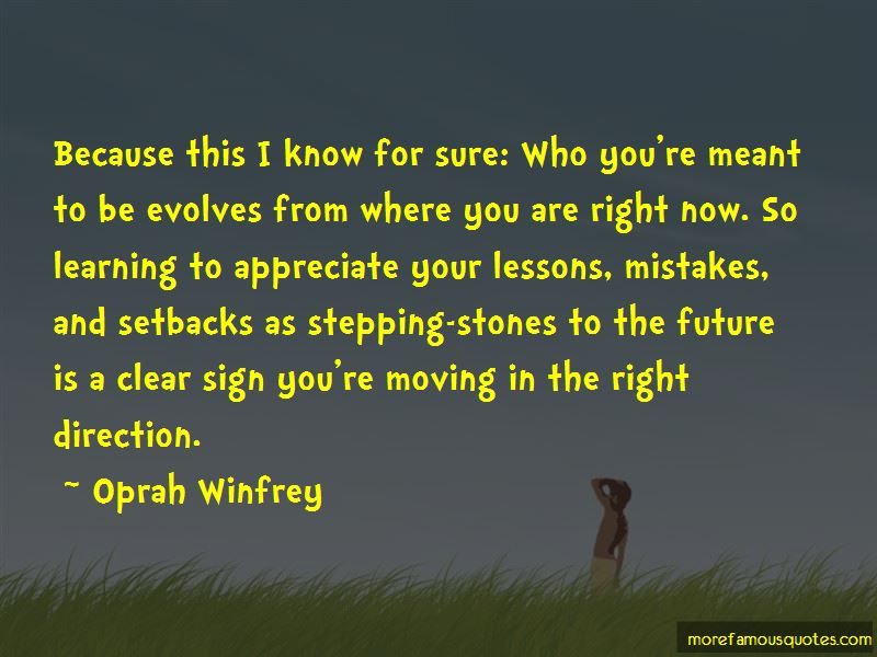 Quotes About Learning Lessons From Mistakes