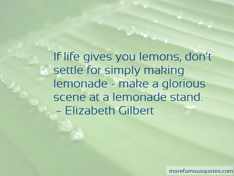 Quotes About Lemons And Lemonade