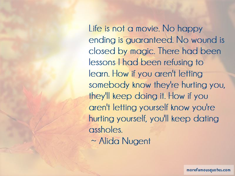 Quotes About Letting Me Be Happy