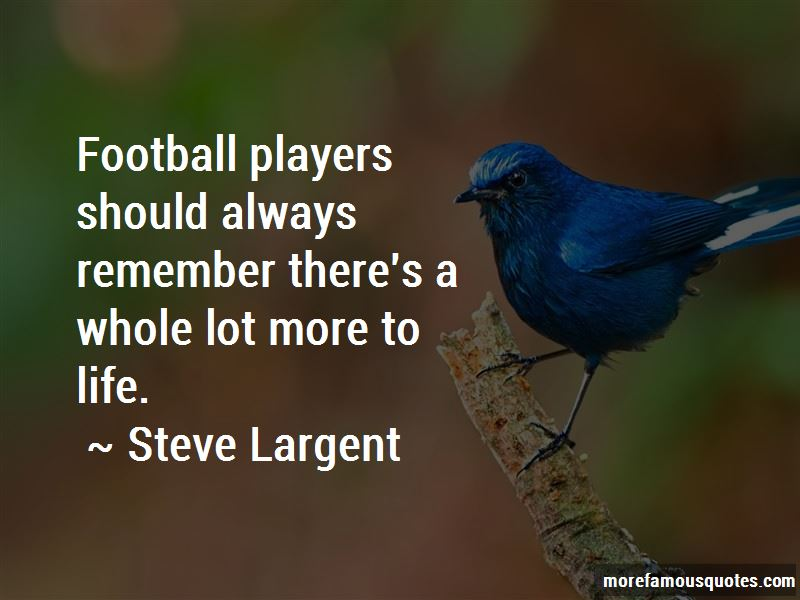 Quotes About Life By Football Players