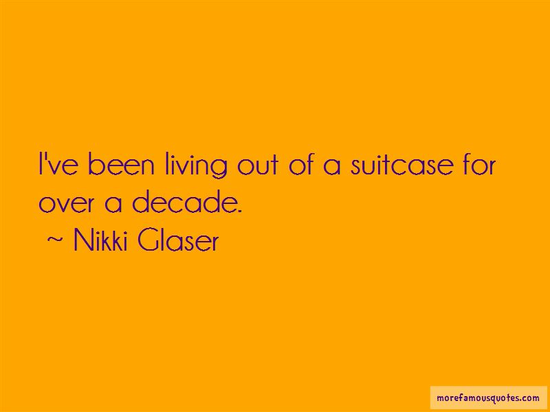 Quotes About Living Out Of A Suitcase