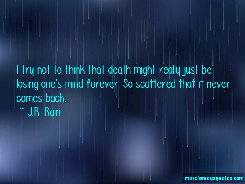 Quotes About Losing One's Mind