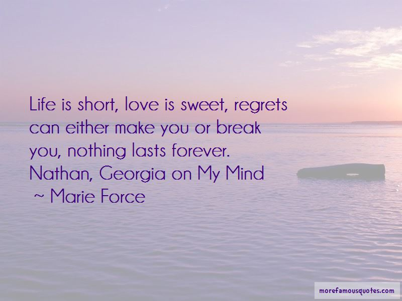 Quotes About Love And Life Short
