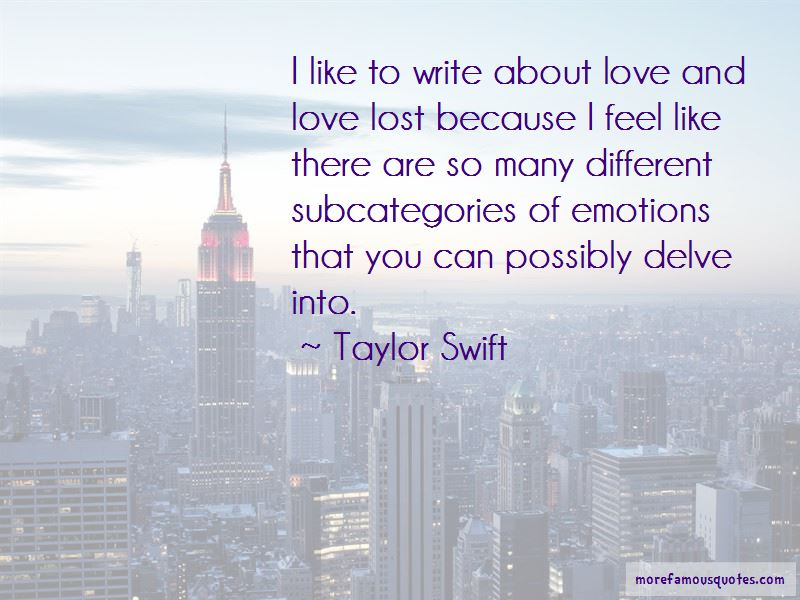 Quotes About Love And Love Lost