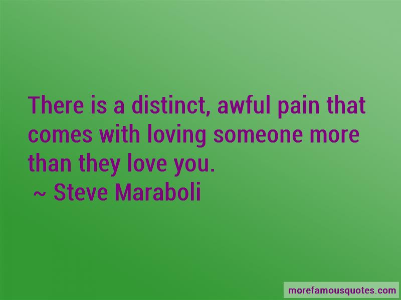 Quotes About Loving Someone More Than They Love You