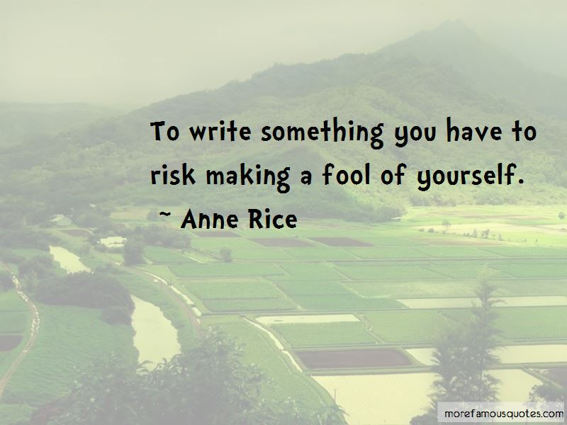 Quotes About Making A Fool Of Yourself