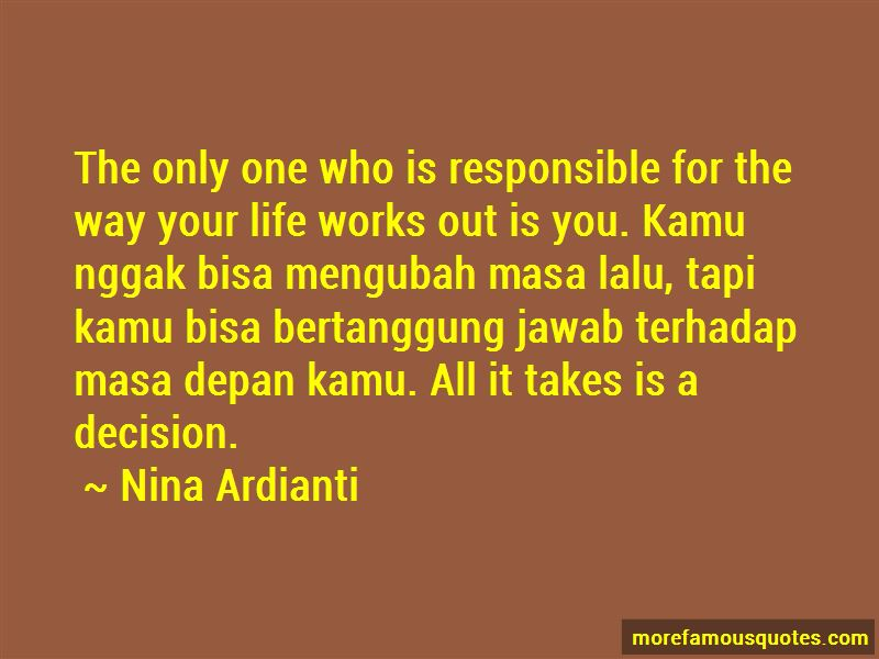 Quotes About Masa Lalu