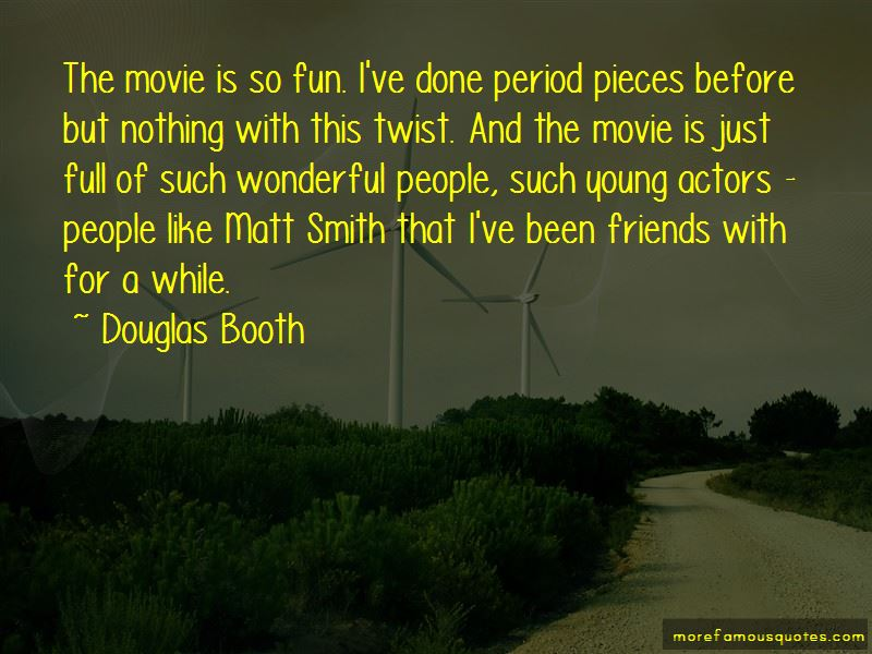 Quotes About Matt Smith