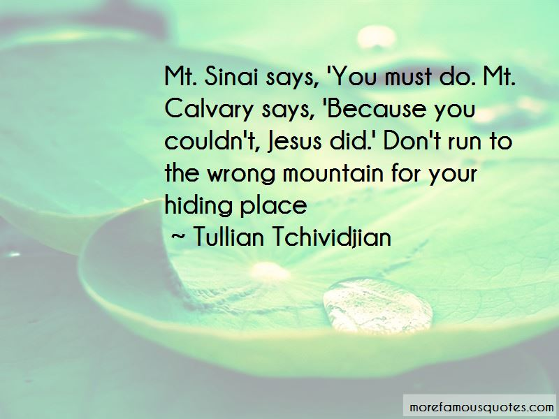 Quotes About Mt Sinai