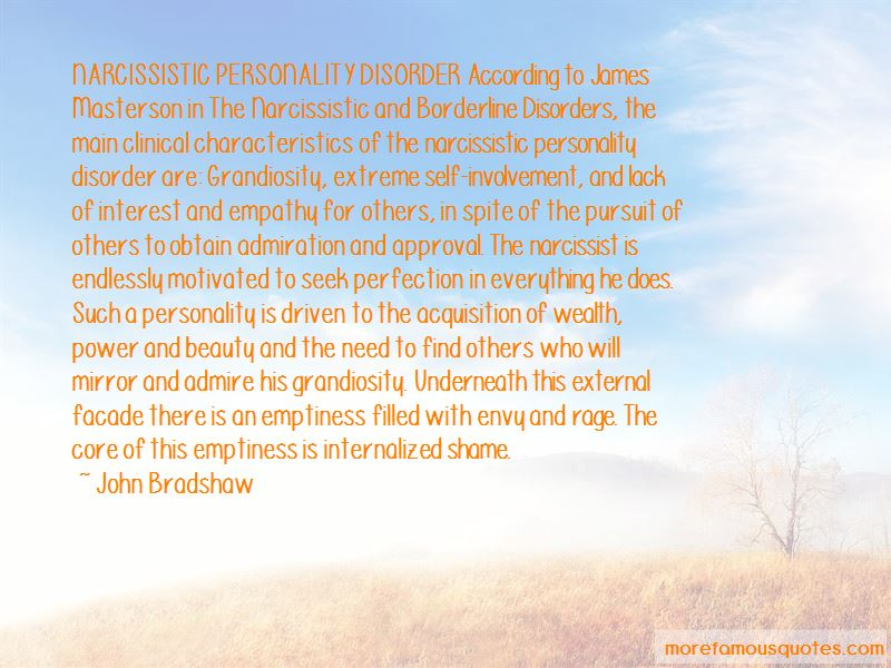 Quotes About Narcissistic Personality Disorder