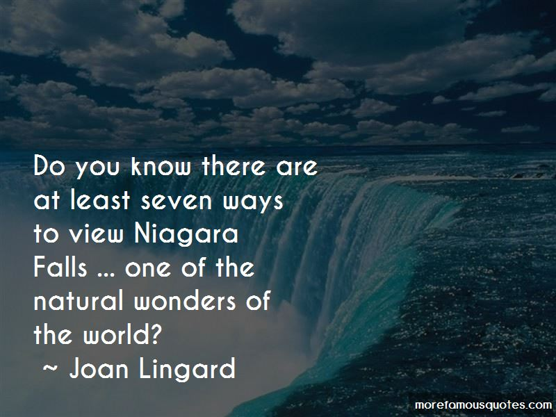 Quotes About Natural Wonders