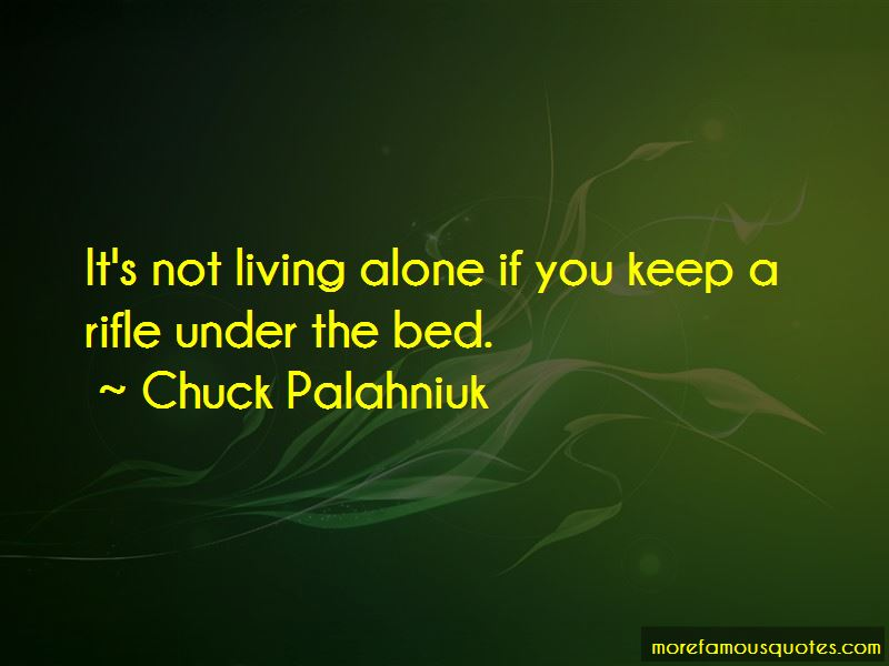 Quotes About Not Living Alone