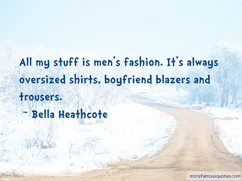 Quotes About Oversized Shirts