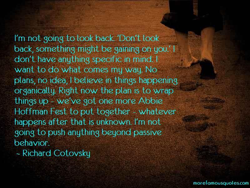 Quotes About Passive Behavior