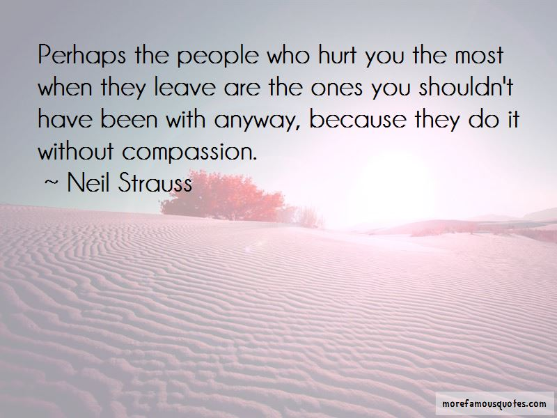 Quotes about leaving someone who hurts you