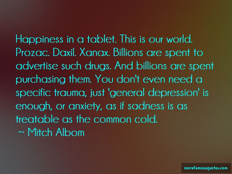 Quotes About Prozac
