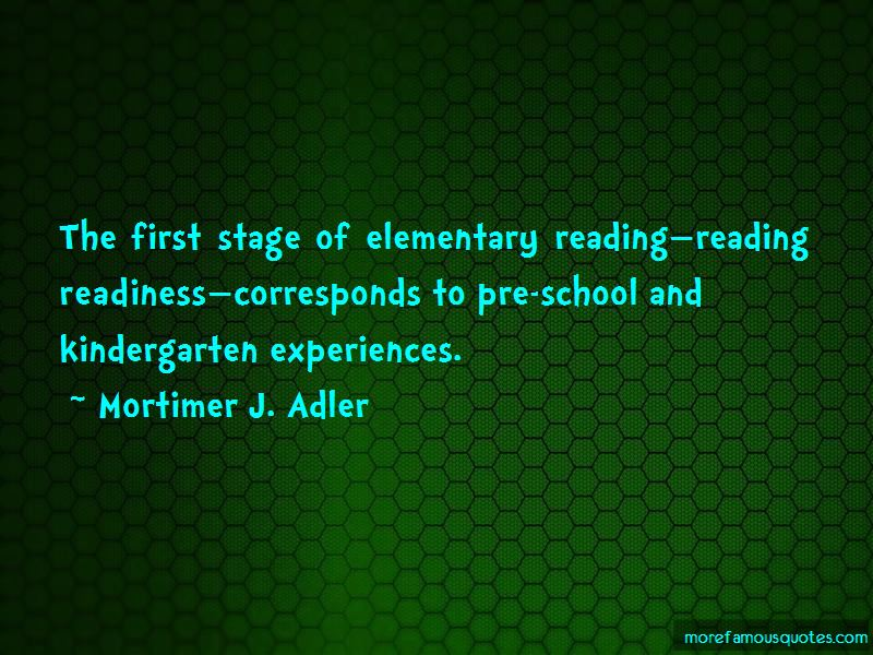 Reading For Elementary School Quotes Pictures 4