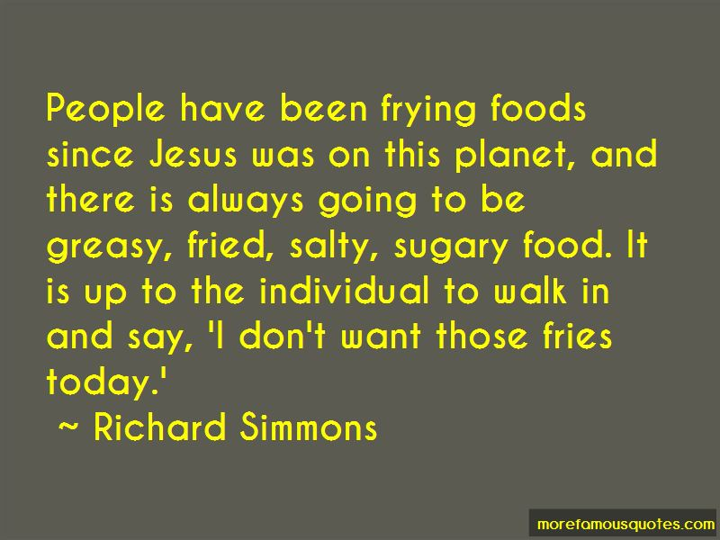 Quotes About Salty Foods