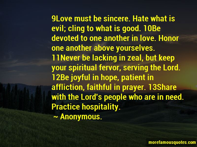 Quotes About Serving The Lord