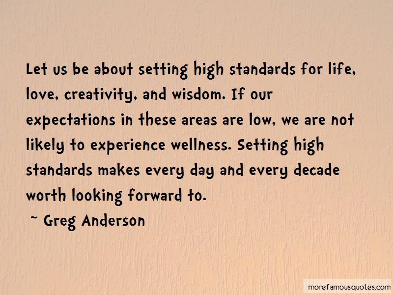 Quotes About Setting High Expectations: top 5 Setting High