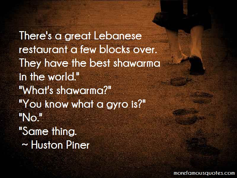 Quotes About Shawarma