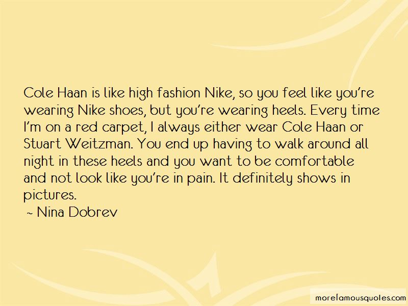 Quotes About Shoes Fashion