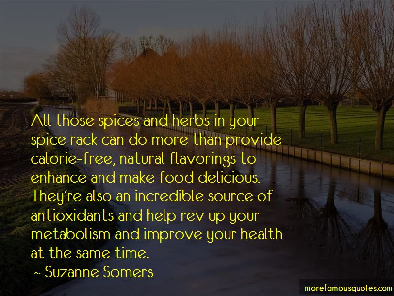Quotes About Spices And Herbs