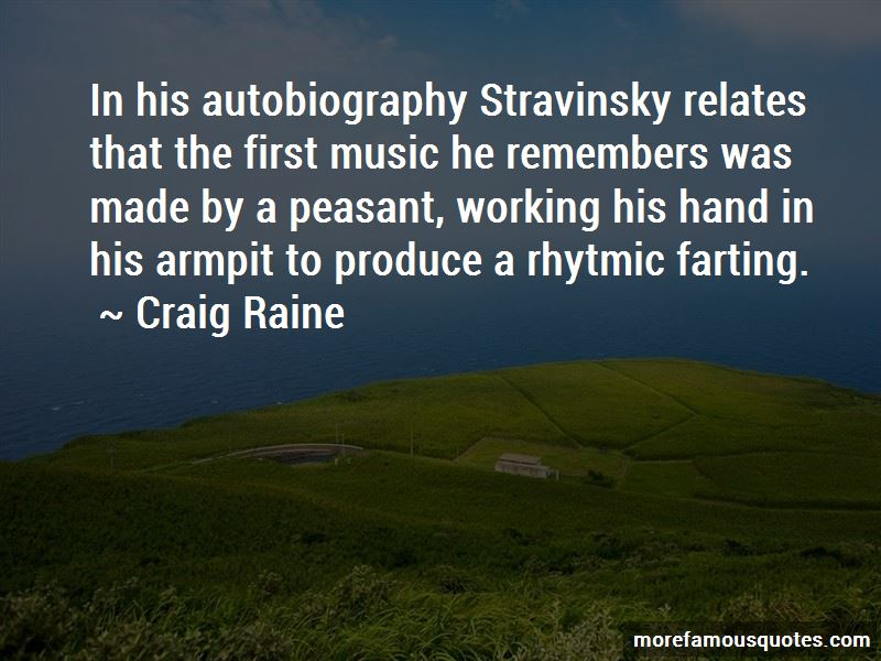 Quotes About Stravinsky