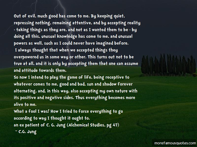 Quotes About Taking Things As They Are