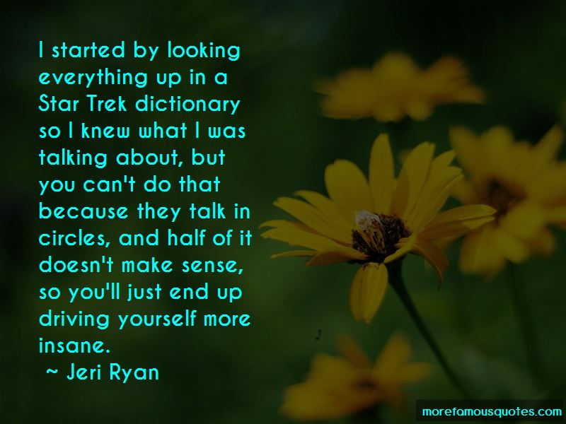 Talking In Circles Quotes Pictures 3