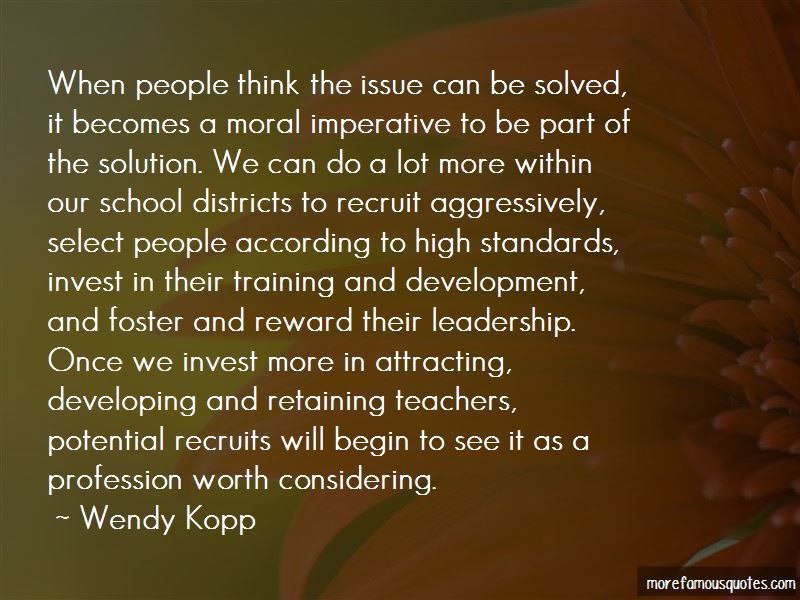 Quotes About Teachers Leadership