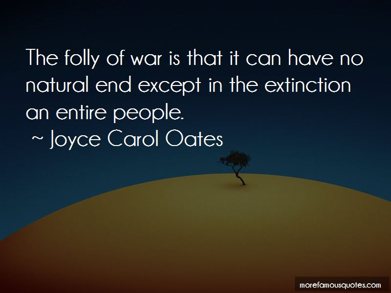 Quotes About The Folly Of War