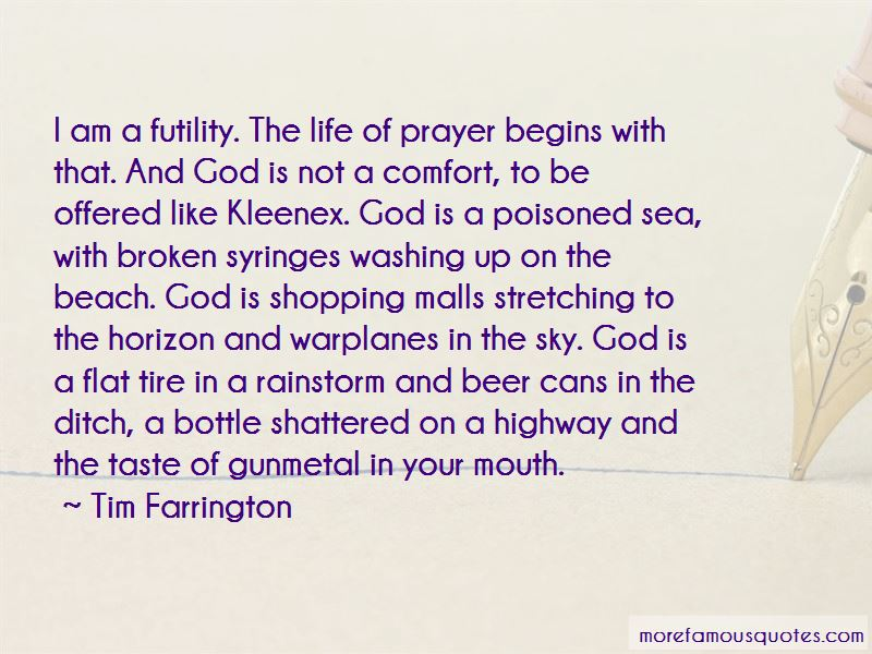 Quotes About The Futility Of Prayer