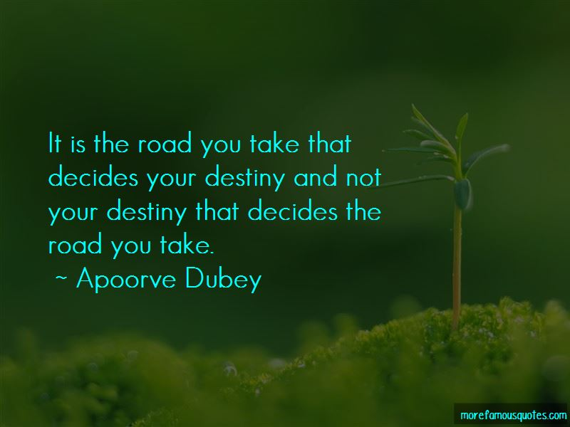 The Road You Take Quotes Pictures 3