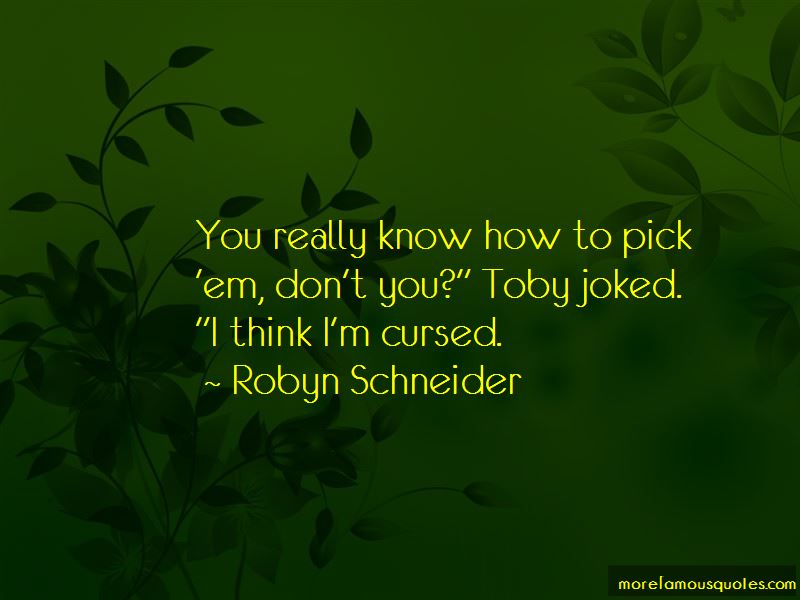 Quotes About Toby