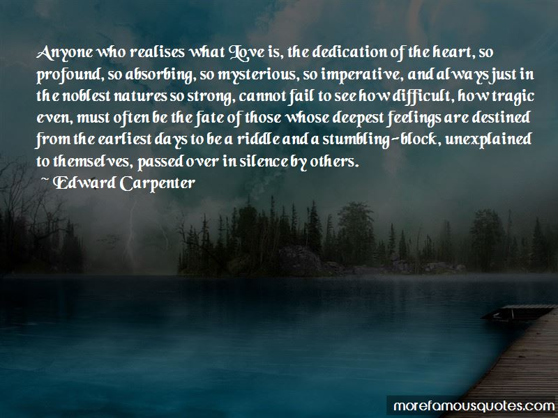 Quotes About Unexplained Feelings