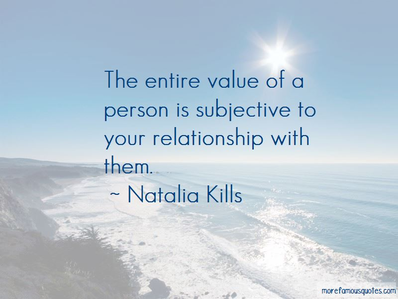 Quotes About Value Of A Person
