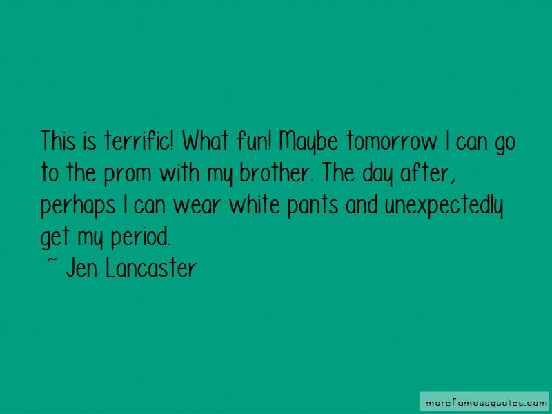 Quotes About White Pants