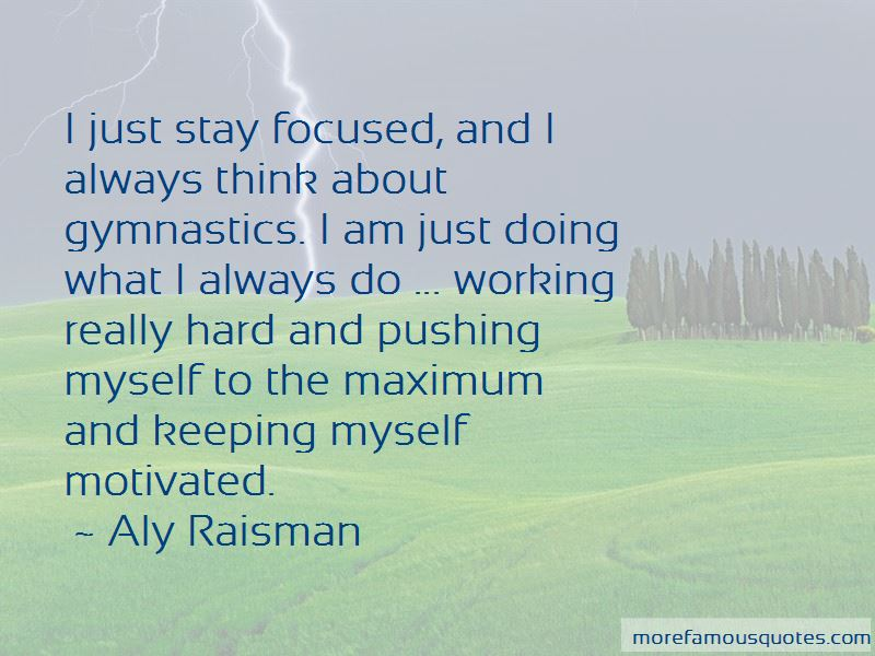 Quotes About Working Hard In Gymnastics