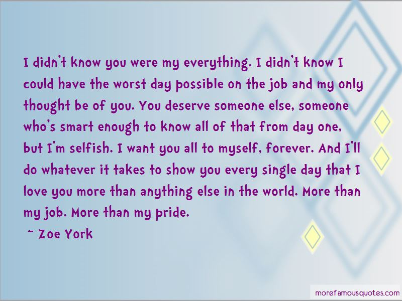 Quotes About You Were My Everything