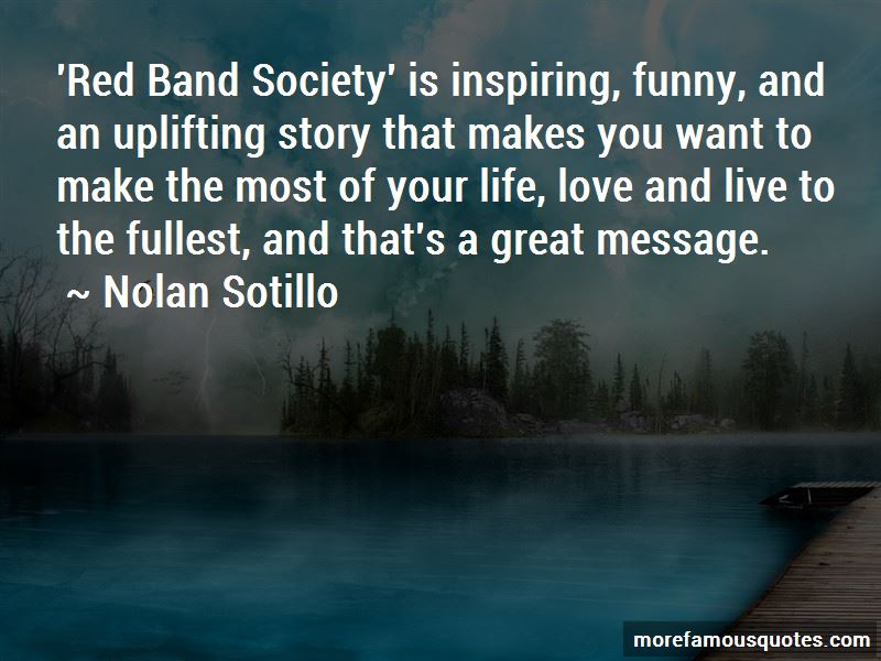 Red Band Society Inspiring Quotes