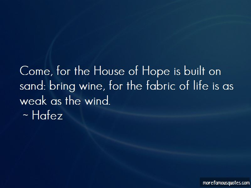 Sand House Quotes