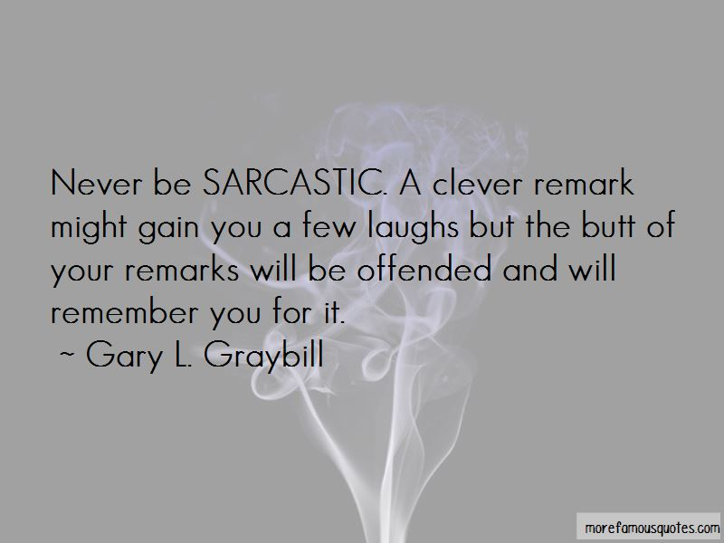 Sarcastic Remarks Quotes Pictures 3