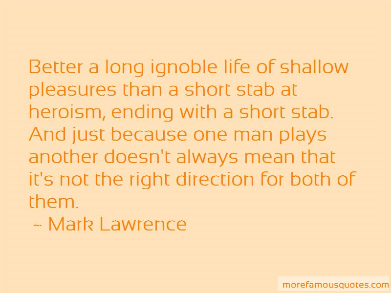 Short Stab Quotes