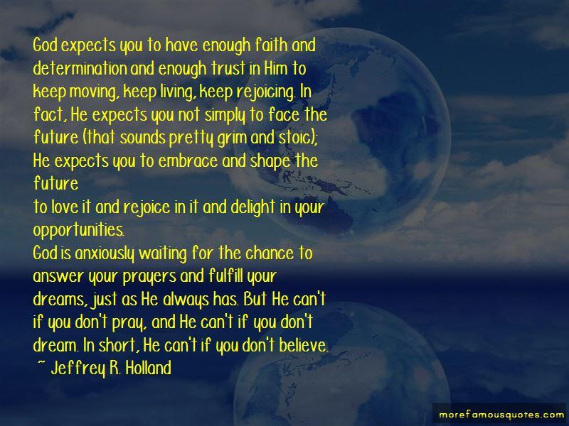 Short Trust God Quotes