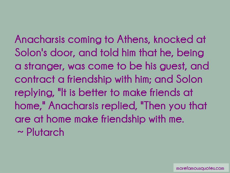 Solon Of Athens Quotes