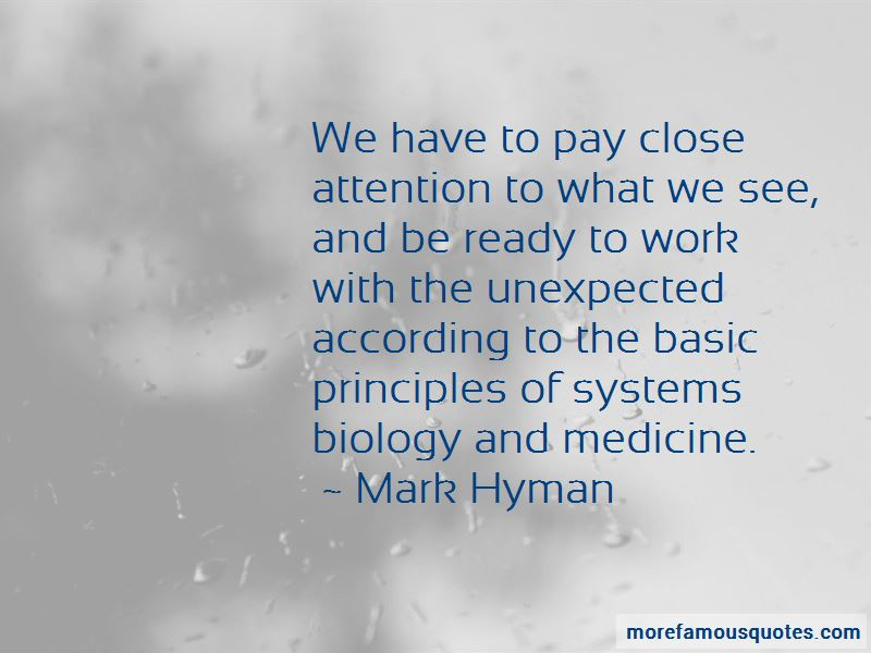 Systems Biology Quotes