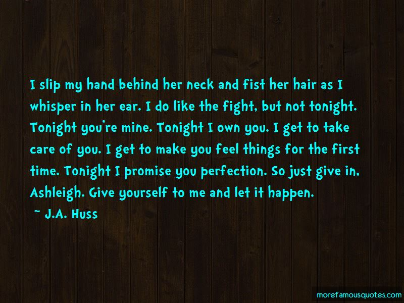 Tonight You're Mine Quotes Pictures 3