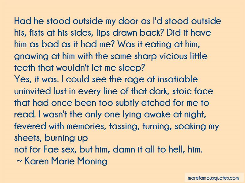 Tossing And Turning At Night Quotes