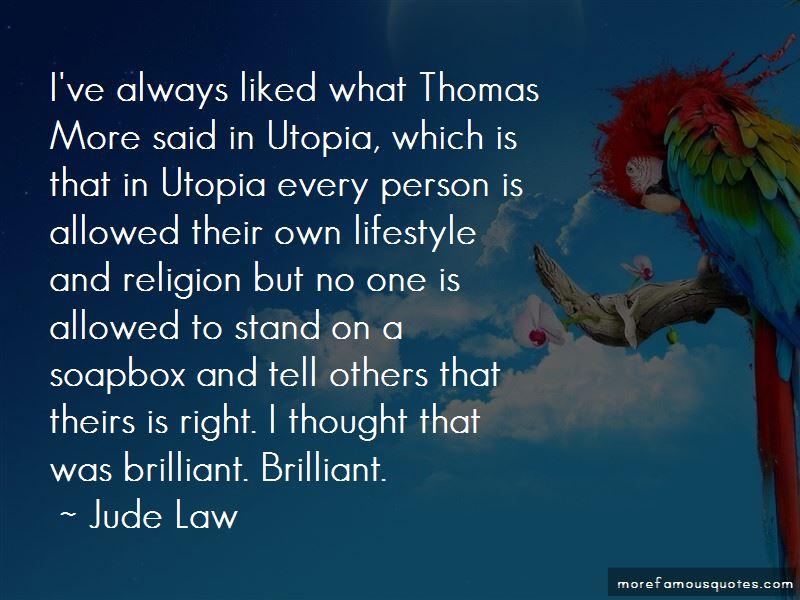 Utopia Thomas More Quotes